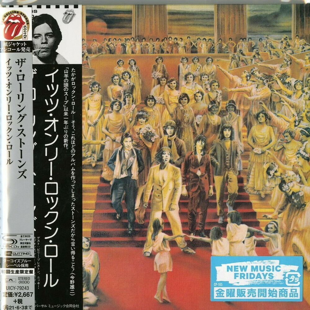 The Rolling Stones - It's Only Rock N Roll (SHM-CD) (Paper Sleeve) [Import]