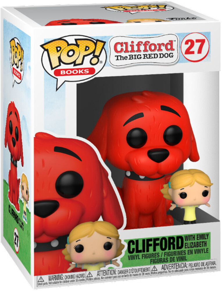 Funko Pop!&Buddy: - FUNKO POP! & BUDDY: Clifford- Clifford w/Emily