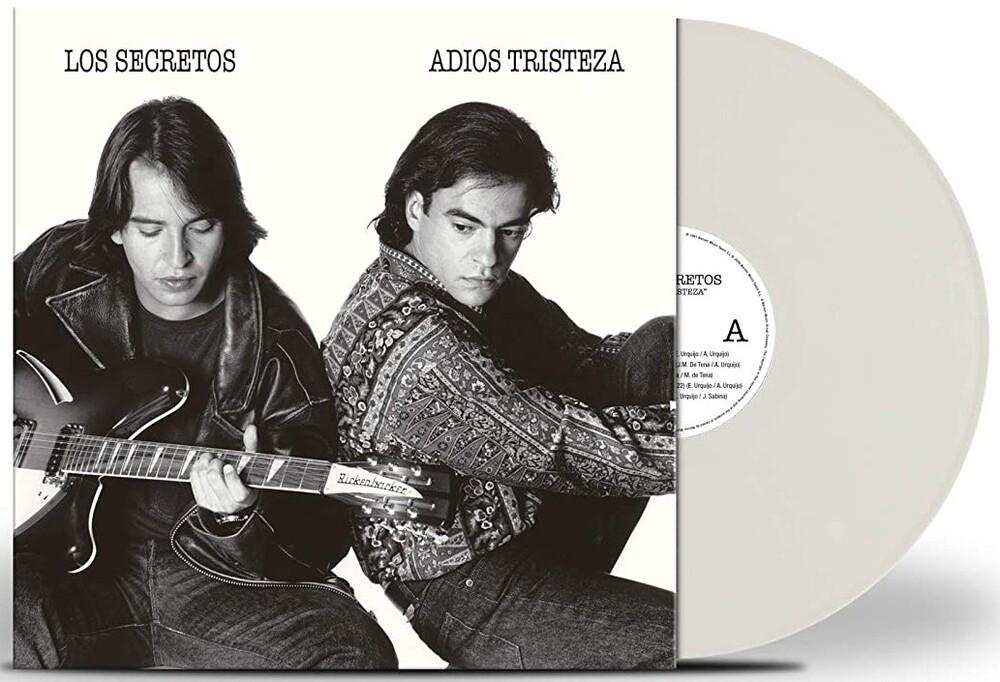 Los Secretos - Adios Tristeza (White Vinyl)