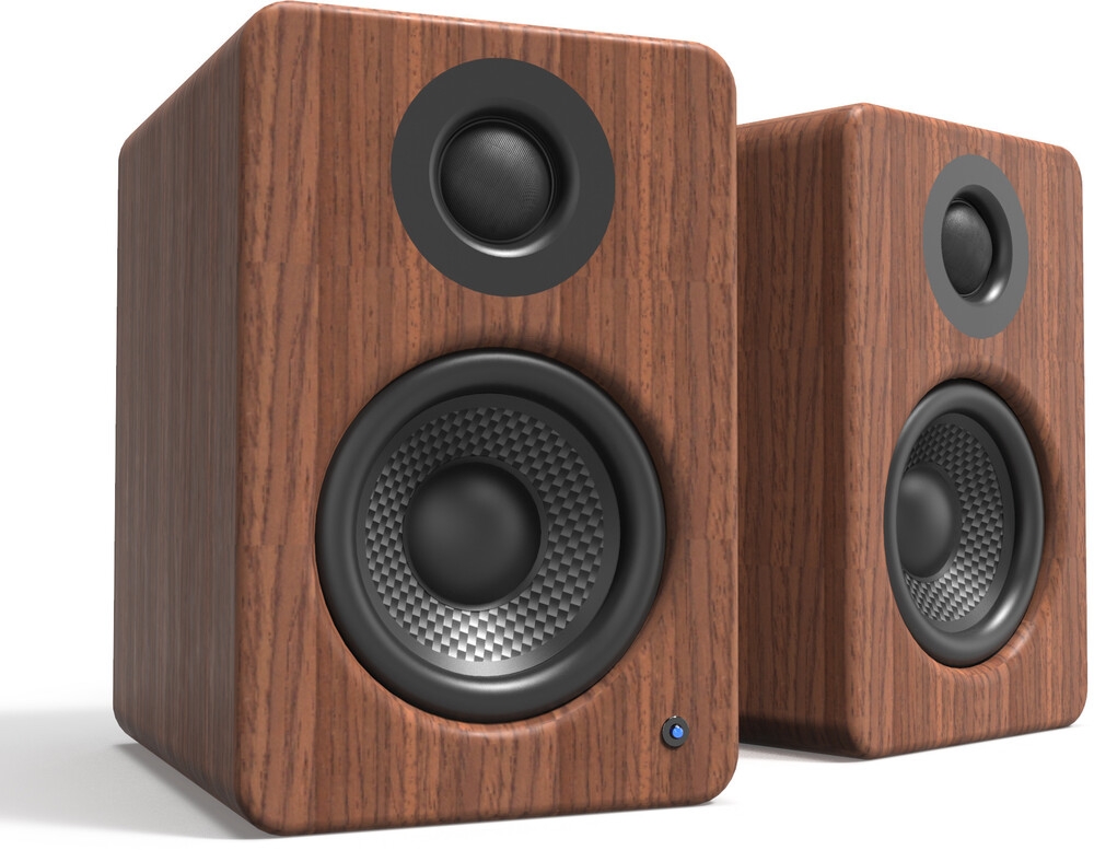 Kanto Yu2Walnut Desktop Cmptr Speakers 100W Walnut - Kanto YU2WALNUT Powered Desktop Computer Speakers with USB Input 100Watts (Walnut)