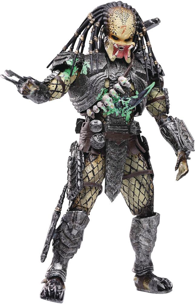 Hiya Toys - Hiya Toys - AVP Final Battle Damage Scar Predator PX 1/18 Scale Figure