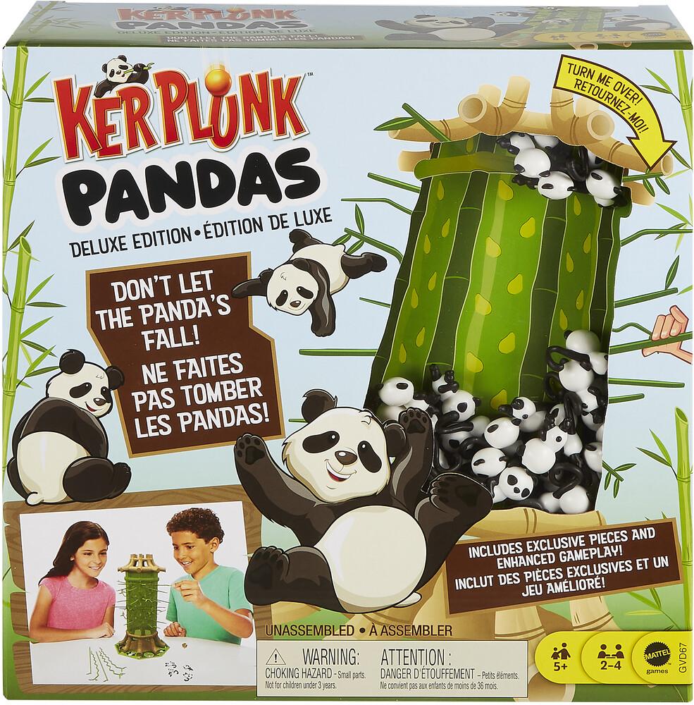 Games - Mattel Games - Kerplunk Pandas Deluxe