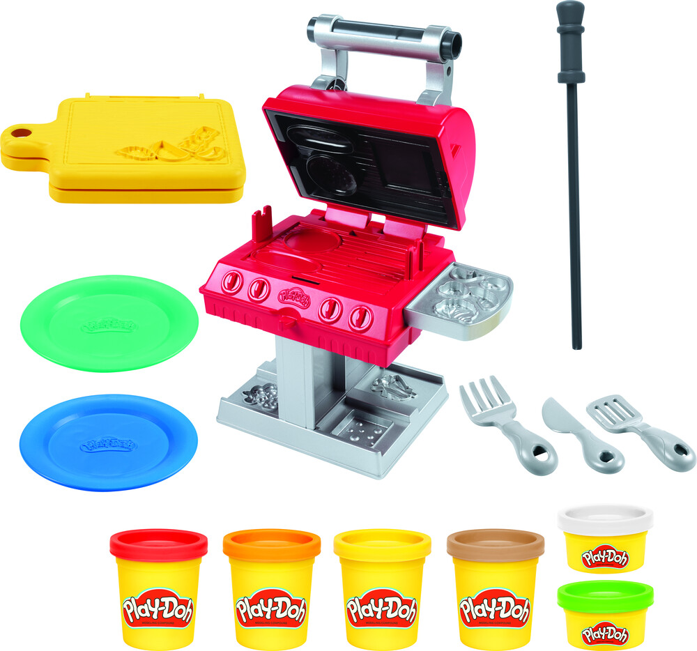 Pd Bbq Grill - Hasbro Collectibles - Play-Doh Bbq Grill