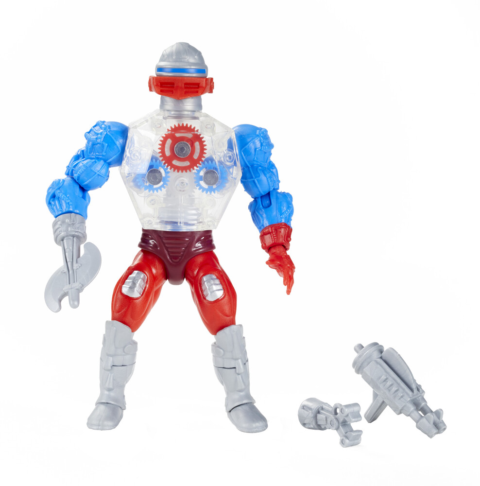 Masters Of The Universe - Mattel Collectible - Masters of the Universe Origins Roboto Action Figure (He-Man, MOTU)