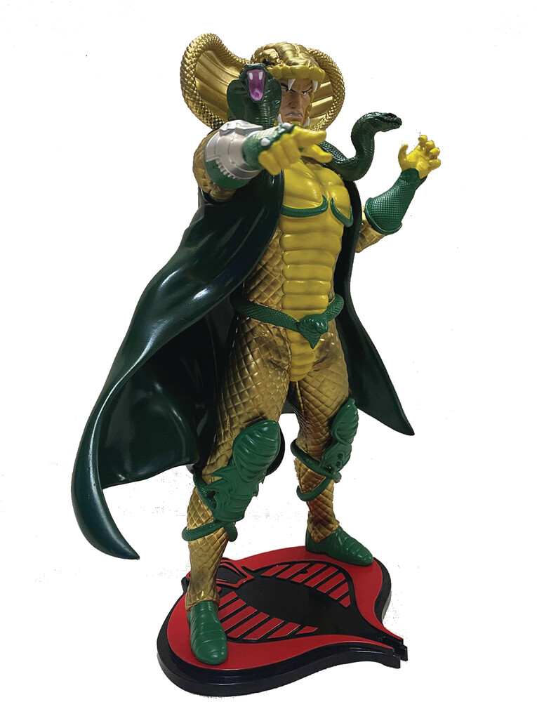 - PCS Collectibles - G.I. Joe Serpentor 1:8 Scale PVC Statue