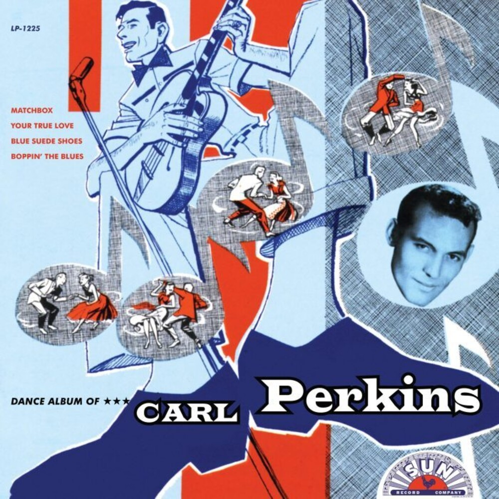 Carl Perkins - Dance Album Of Carl Perkins [Indie Exclusive] (Tri Color Vinyl