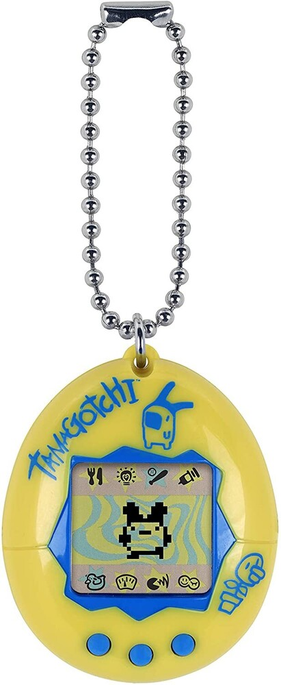 Tamagotchi - Bandai America - Original Tamagotchi, Yellow with Blue
