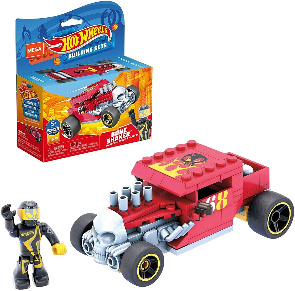 - Mega Brands - Hot Wheels Bone Shaker Construction Set