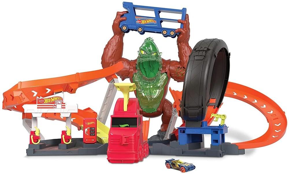 Hot Wheels - Mattel - Hot Wheels City Slime Gorilla Attack