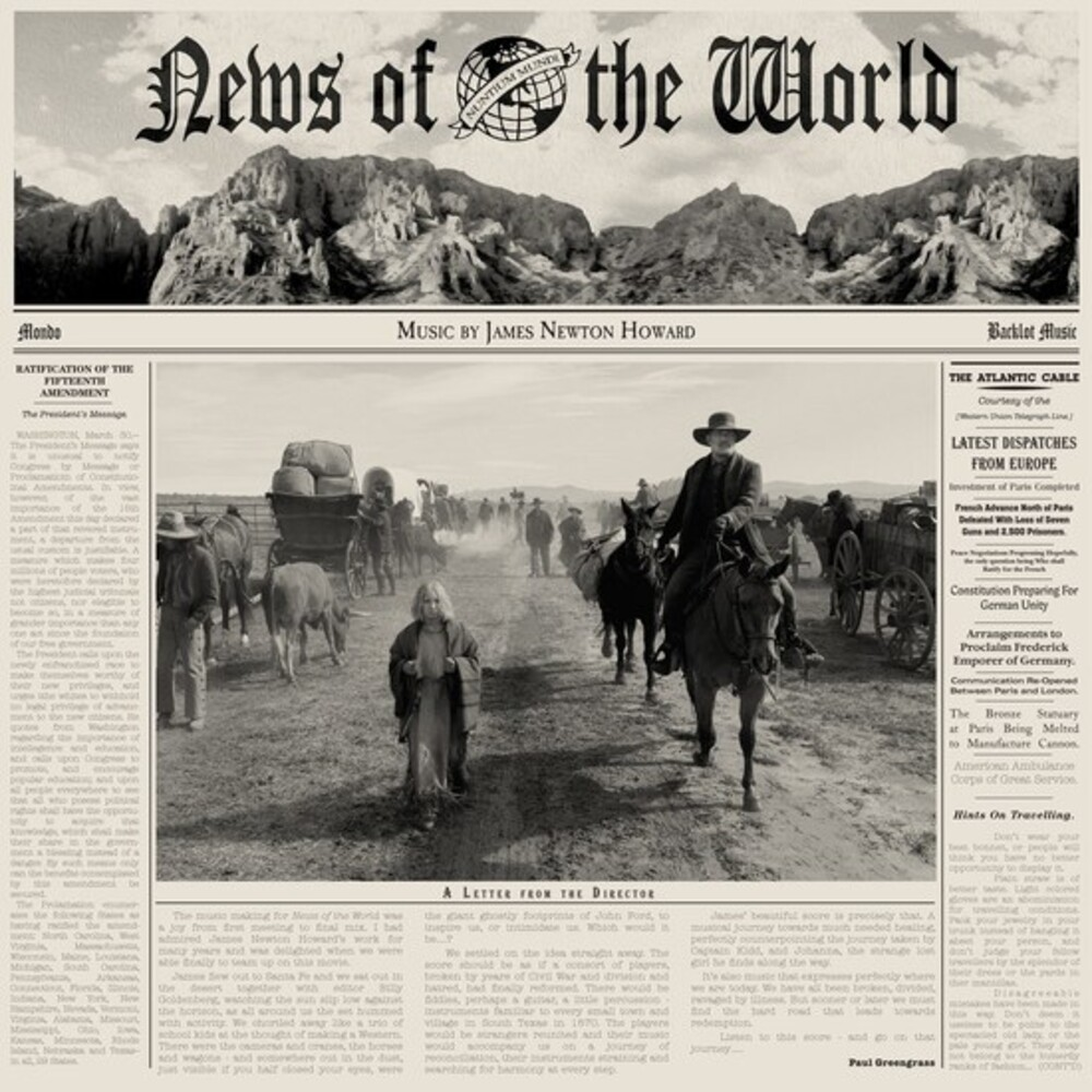James Howard  Newton (Ogv) - News Of The World / O.S.T. [180 Gram]