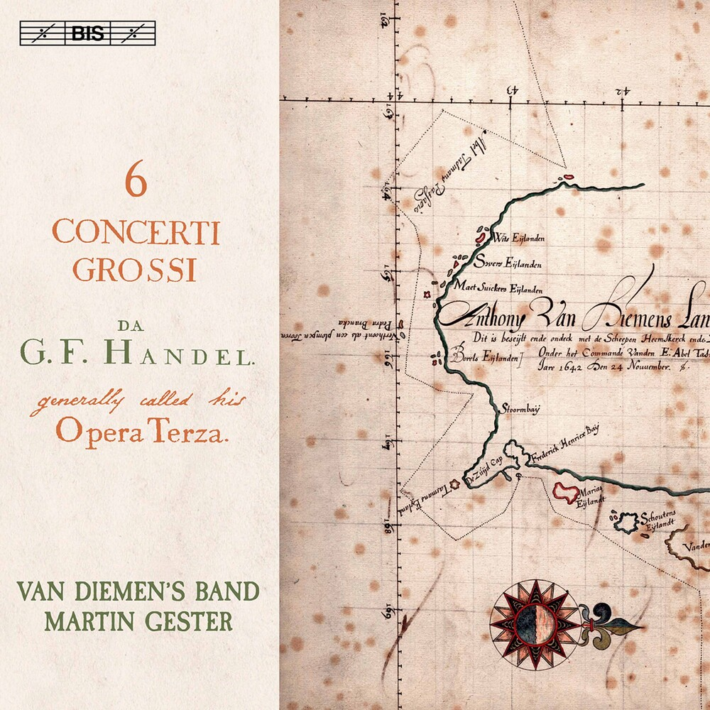 Handel / Van Diemen's Band / Gester - Six Concerti Grossi 3 (Hybr)