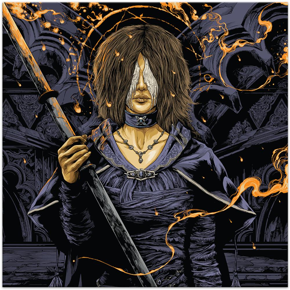 Shunsuke Kida  (Blk) (Blue) (Colv) (Gate) - Demon's Souls / O.S.T. (Swirl Vinyl) (Blk) (Blue)