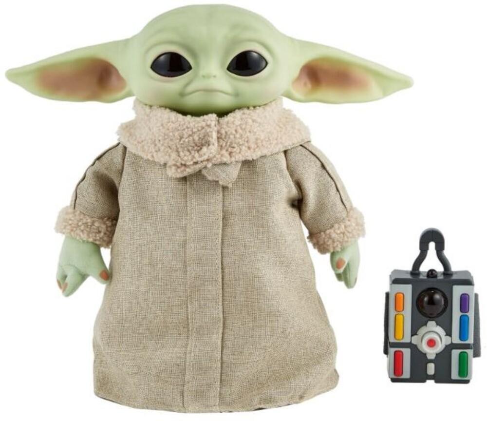 "Star Wars - Mattel Collectible - Star Wars, The Mandalorian: The Child 12"" RC Plush (Baby Yoda)"