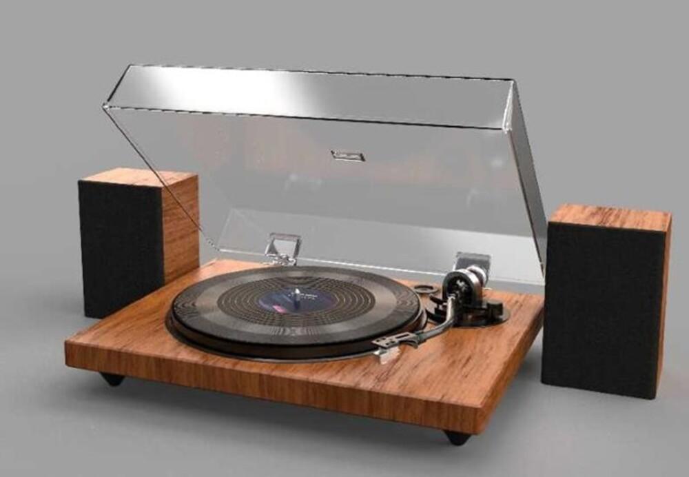 Ilive Ittb751Dw Bluetooth Turntable Wood Spks Brwn - Ilive Ittb751dw Bluetooth Turntable Wood Spks Brwn