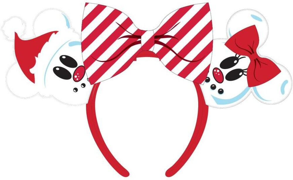 Loungefly Disney: - Snowman Mickey Minnie Headband