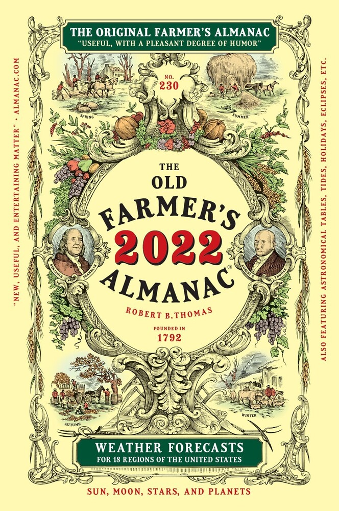 Old Farmers Almanac - Old Farmers Almanac 2022 Edition (Ppbk)