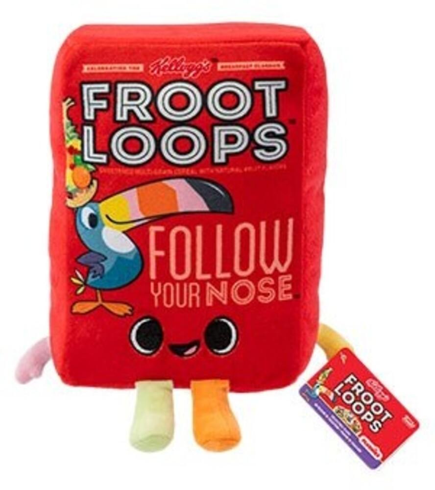 Funko Pop! Plush: - FUNKO POP! PLUSH: Kelloggs- Froot Loops Cereal Box