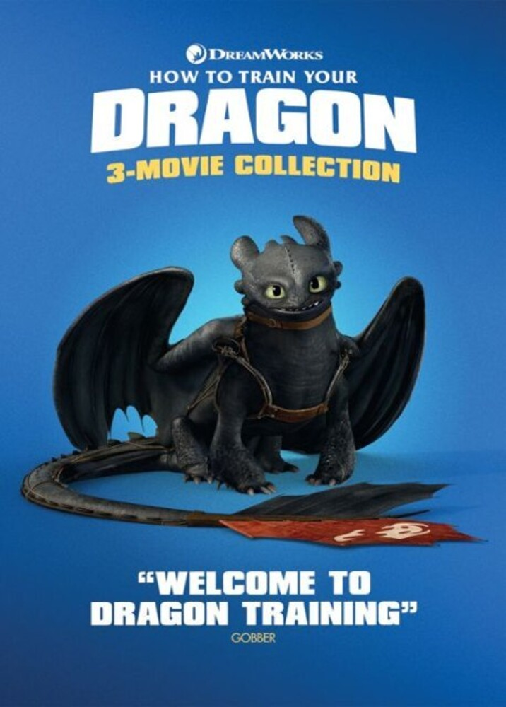 - How To Train Your Dragon 3-Movie Collection (3pc)