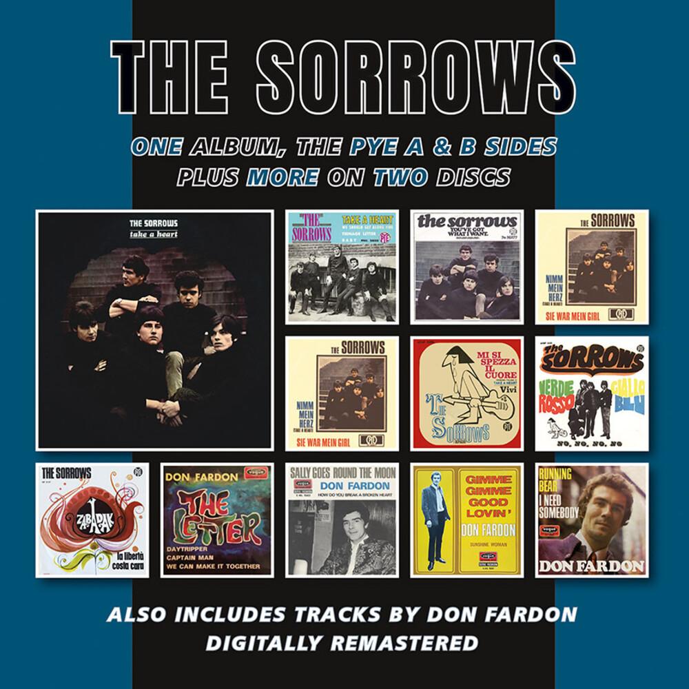 Sorrows - Take A Heart Plus The Pye A & B Sides & More (Uk)