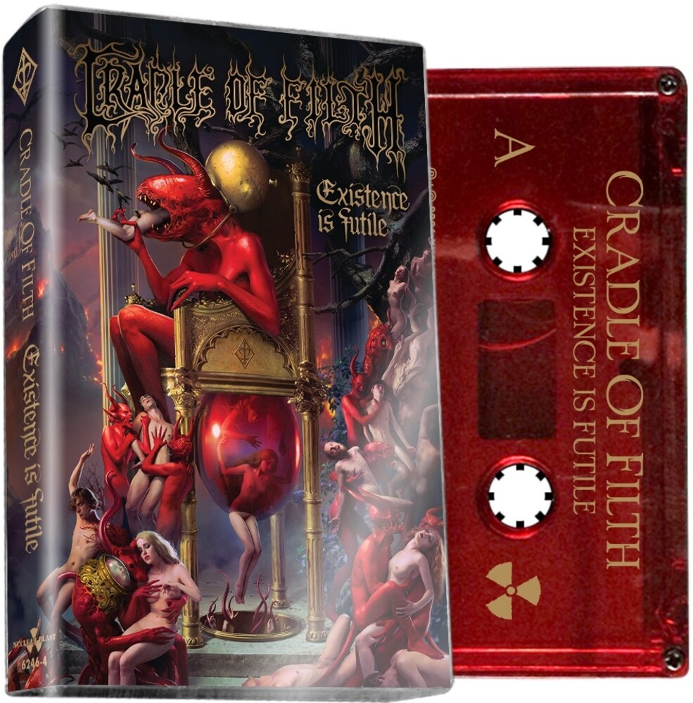 Cradle Of Filth - Existence Is Futile [Indie Exclusive] (Red Cassette) (Colc)