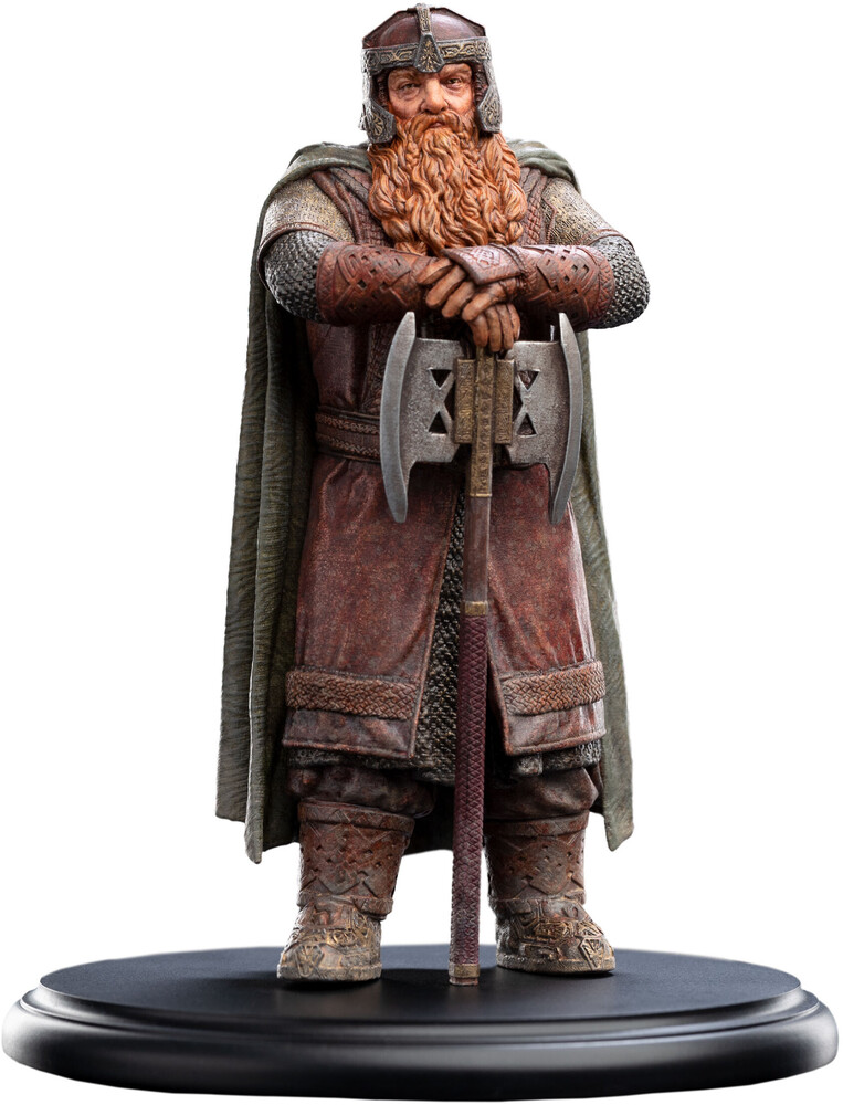 Small Polystone - Lotr Trilogy - Gimli, Son Of Gloin - Mini Statue