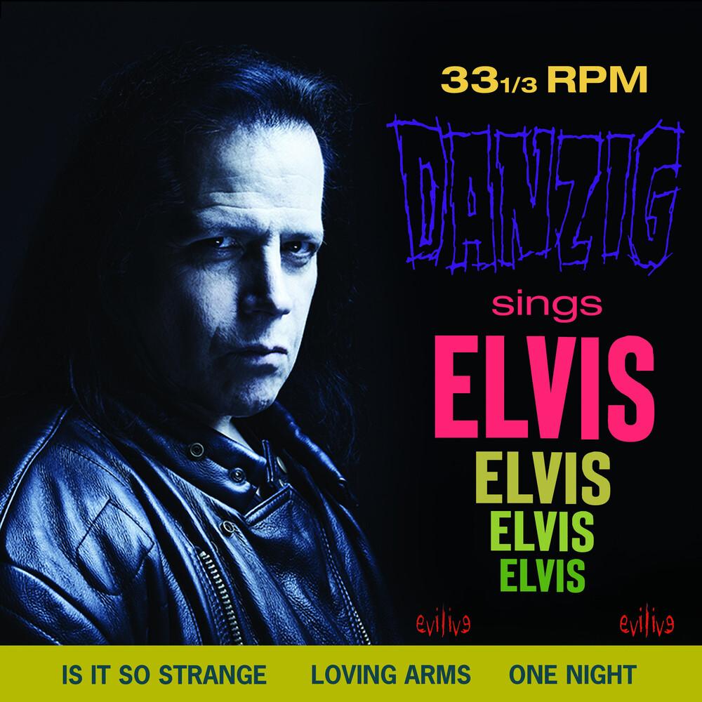 Danzig - Sings Elvis (Pink & Black Haze Vinyl)