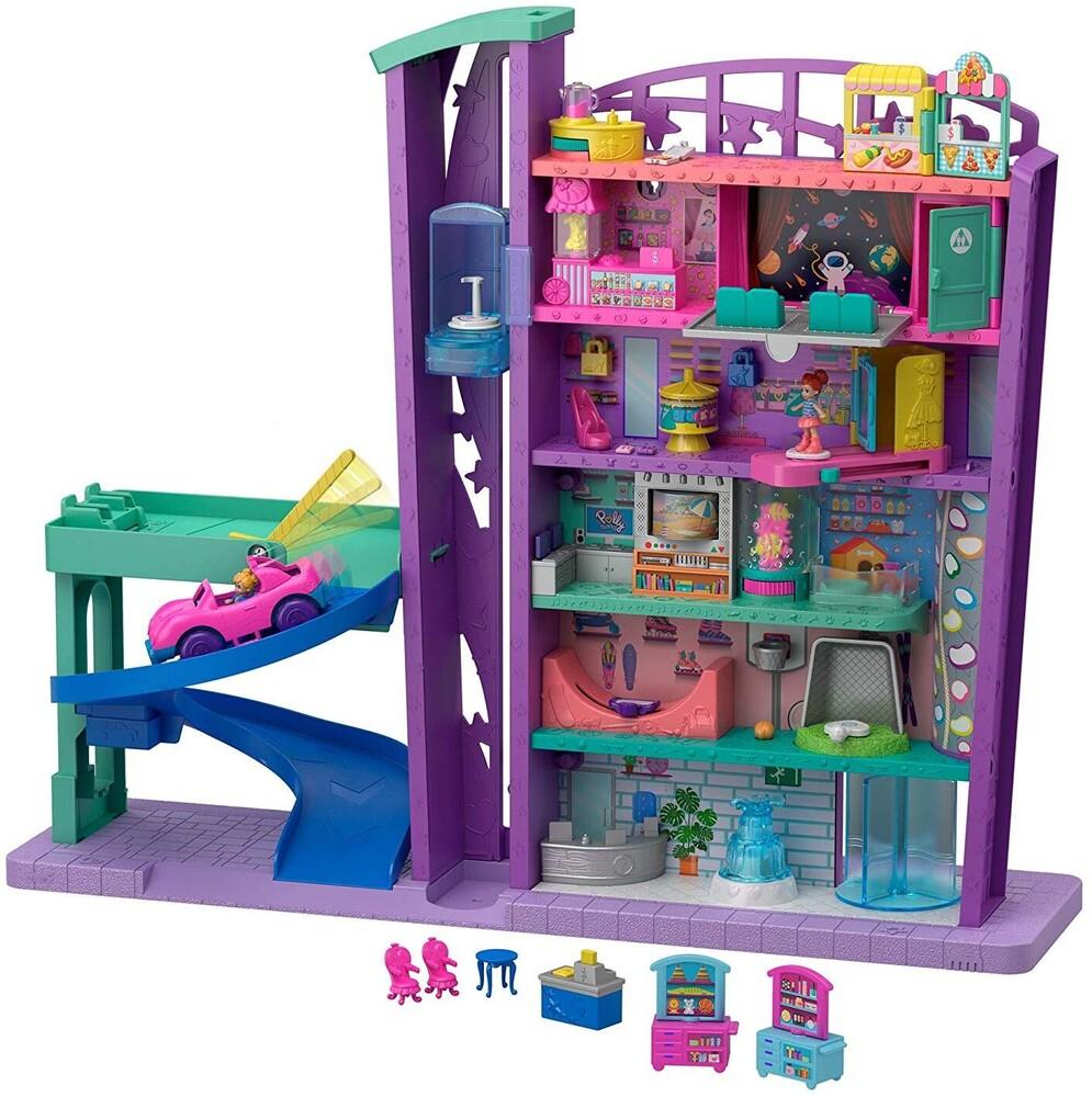 Polly Pocket - Mattel - Polly Pocket, Mega Mall