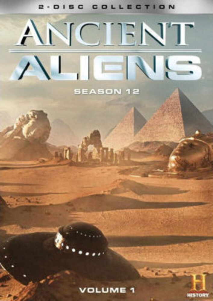 Ancient Aliens: Season 12 - Vol 1 - Ancient Aliens: Season 12 - Vol 1 (3pc) / (3pk)