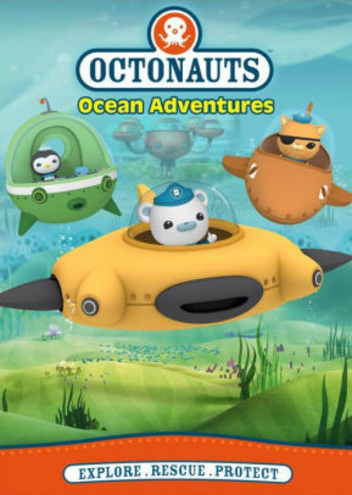 Octonauts: Ocean Adventures DVD - Octonauts: Ocean Adventures