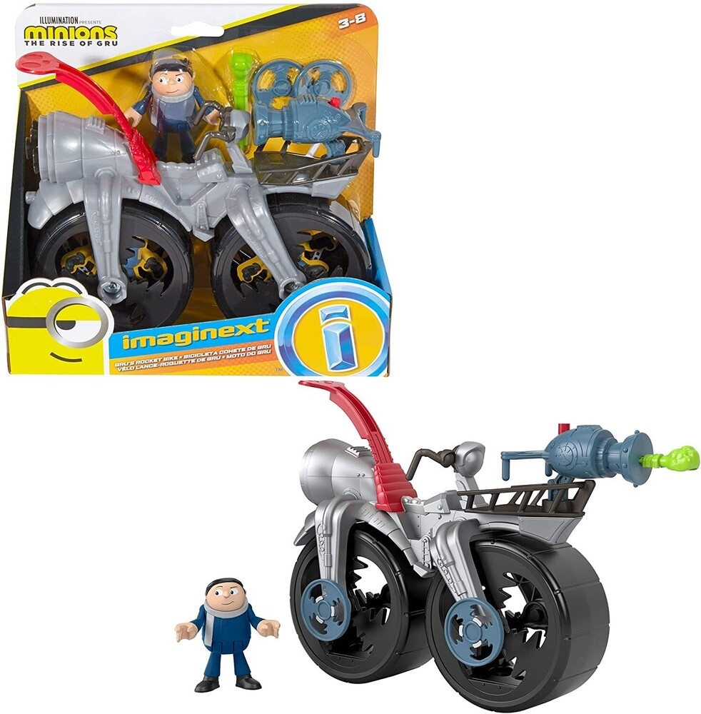 Imaginex Minions - Fisher Price - Imaginext Gru's Cycle (DreamWorks)