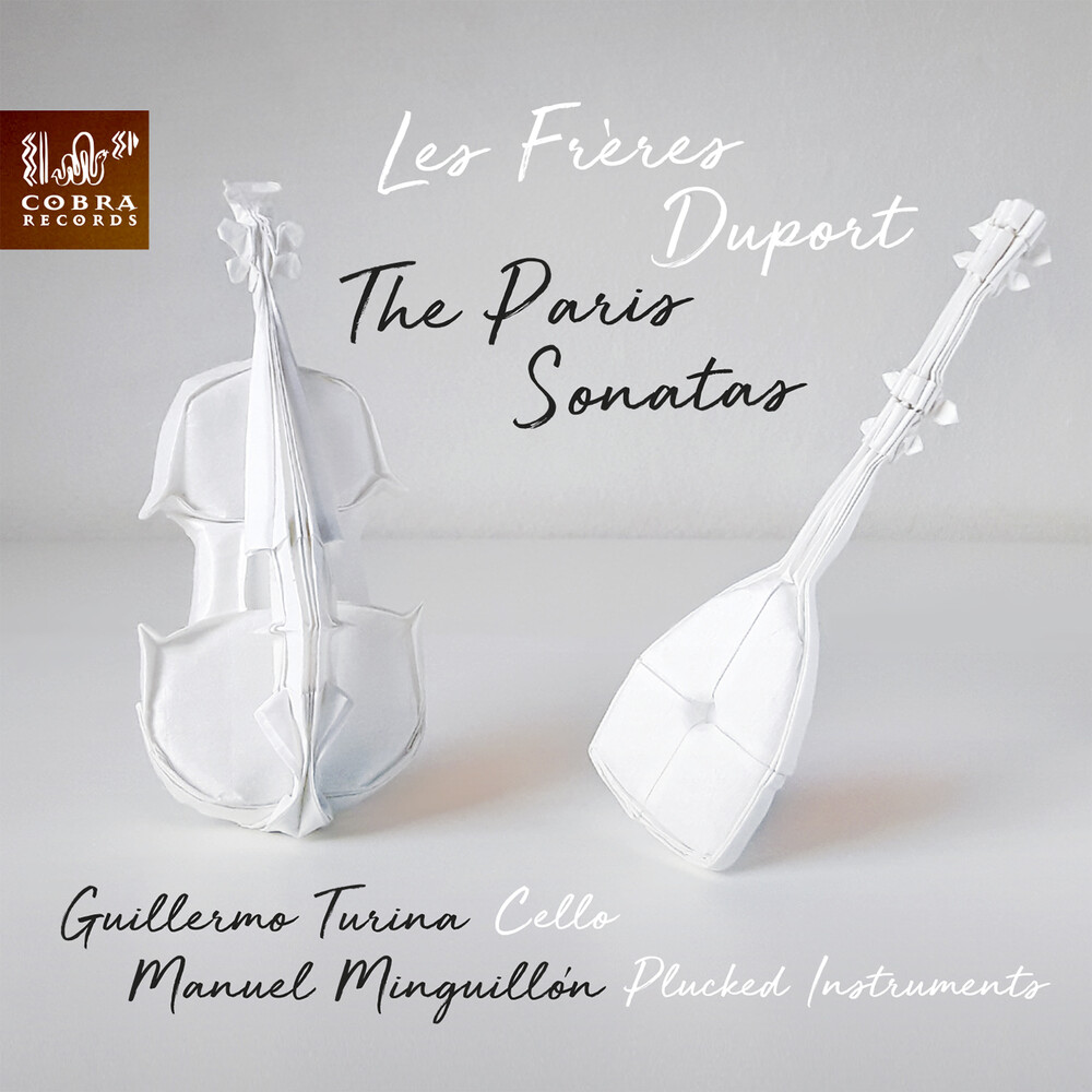 Guillermo Turina / Minguillon,Manuel - Les Freres Duport: The Paris Sonatas