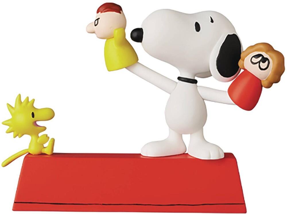 Medicom - Medicom - Peanuts Puppet Snoopy & Woodstock UDF Figure Series 11