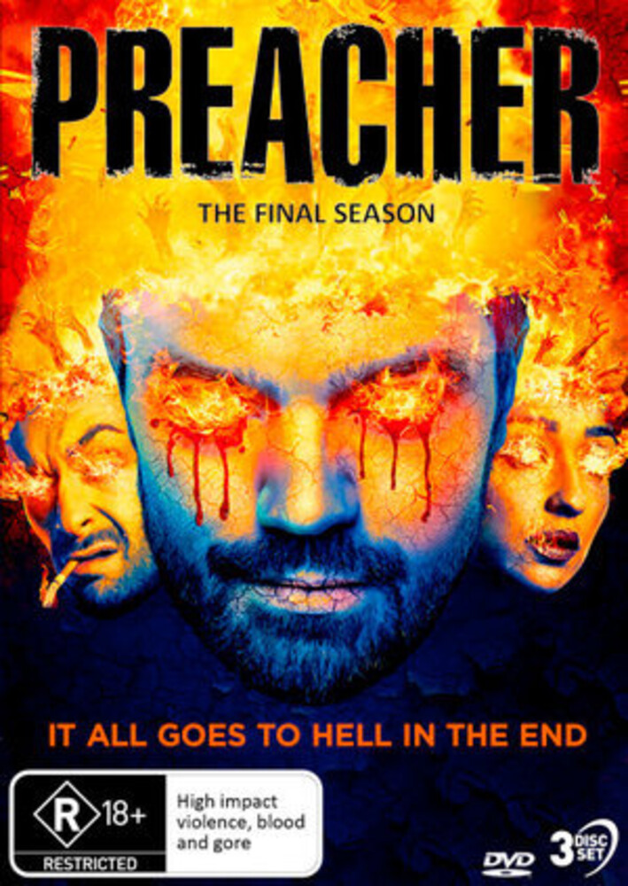 - Preacher: Season 4 - The Final Season (3pc)