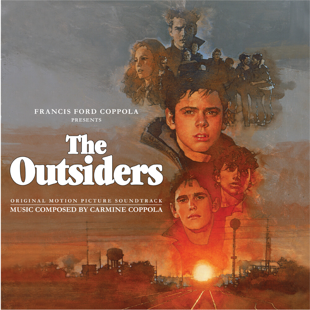 Carmine Coppola Blue Colv Org - Outsiders / O.S.T. (Blue) [Colored Vinyl] (Org)