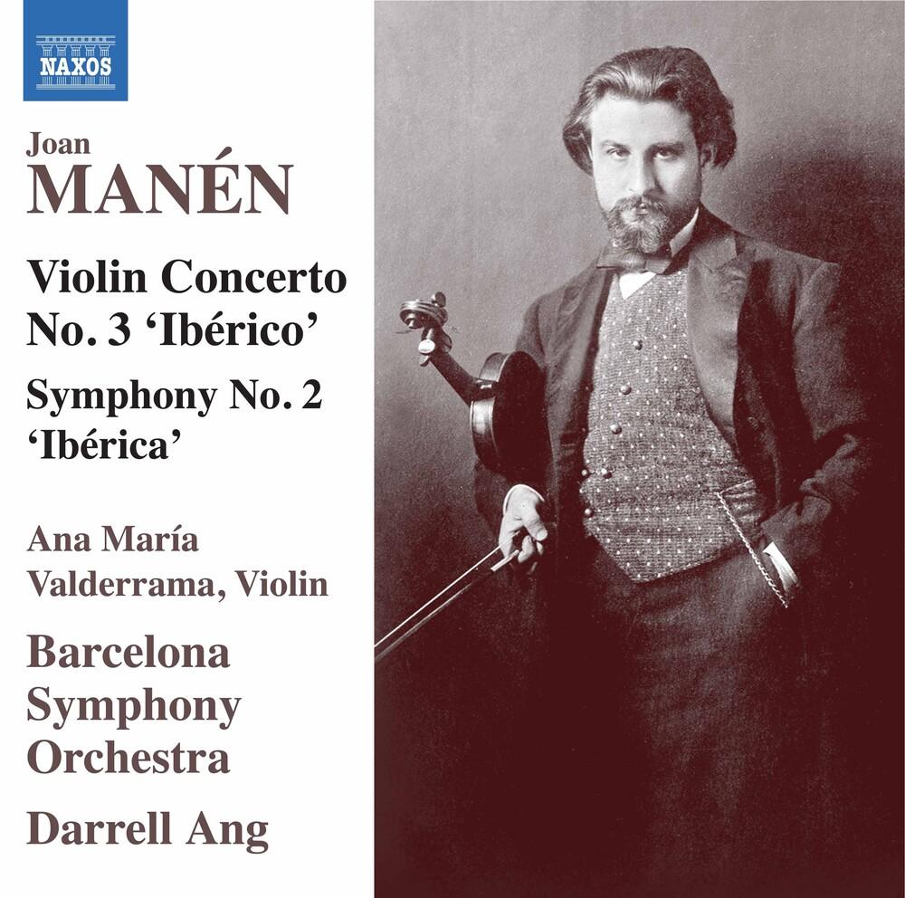 Manen / Valderrama / Ang - Violin Concerto 3 Iberico