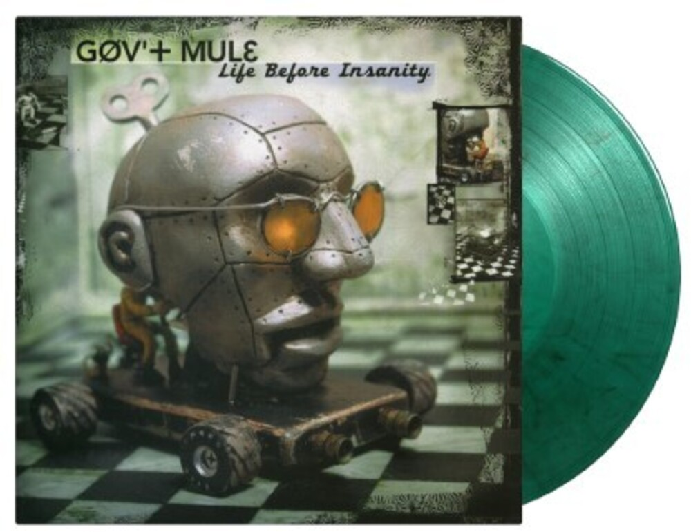 Govt Mule - Life Before Insanity [Limited Gatefold, 180-Gram Green & Black Swirl Colored Vinyl]