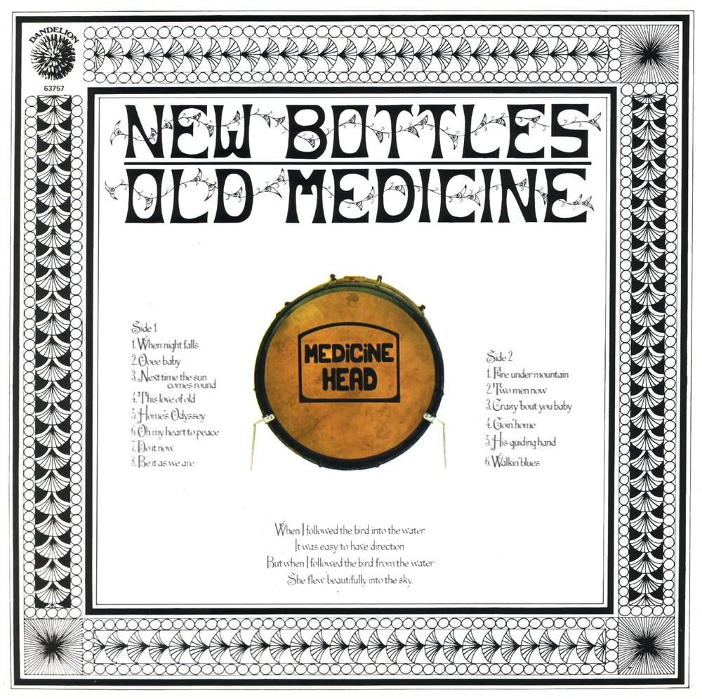 Medicine Head - New Bottles Old Medicine: 50th Anniversary Edition