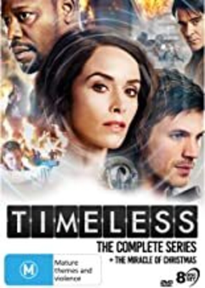 Timeless: The Complete Series - Timeless: The Complete Series (8pc) / (Box Aus)