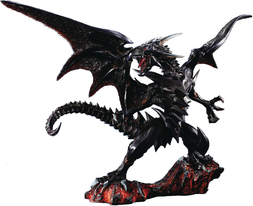 Megahouse - Megahouse - Yu-Gi-Oh! Duel Monsters - ART WORKS MONSTERS Yu-Gi-Oh Duel Monsters Red-eyes Black Dragon