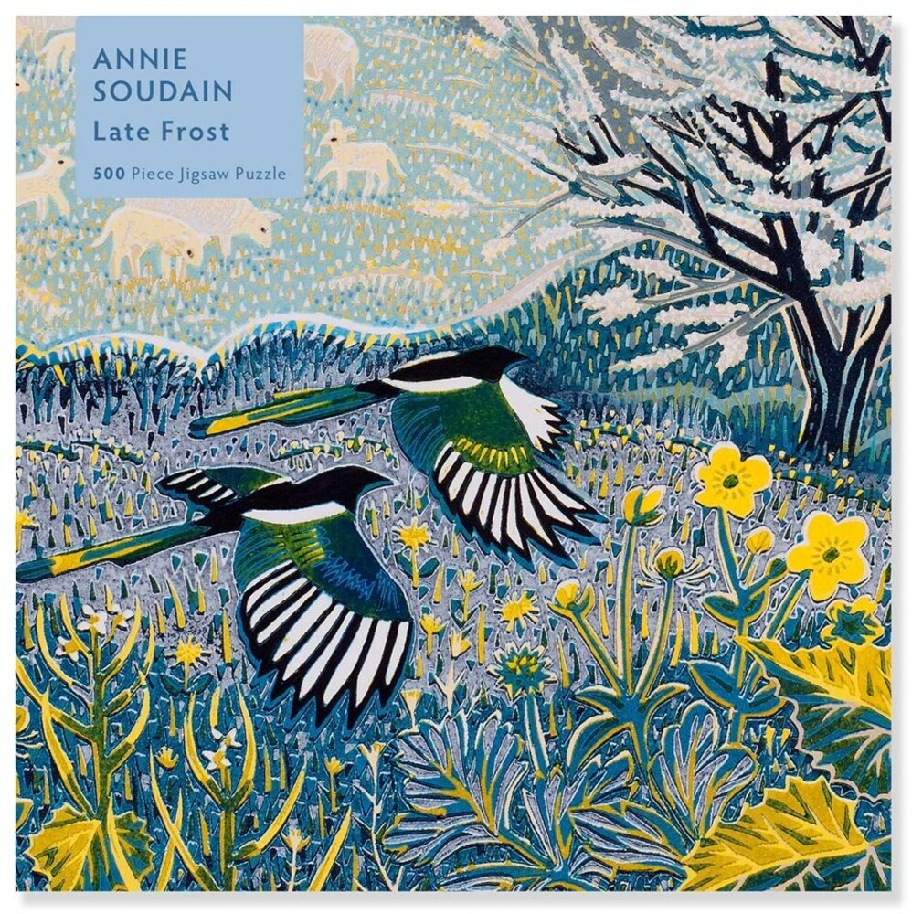 Flame Tree Studio - Annie Soudain Late Frost 500 Piece Jigsaw Puzzle