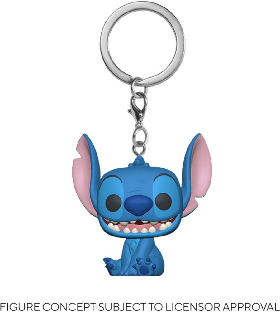 - FUNKO POP! KEYCHAIN: Lilo & Stitch- Stitch