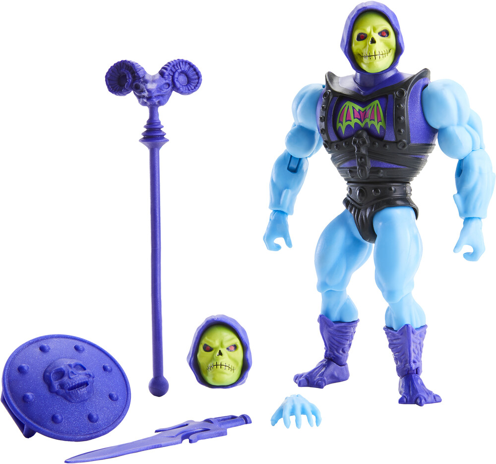 Masters Of The Universe - Mattel Collectible - Masters of the Universe Origins Battle Armor Skeletor Action Figure (He-Man, MOTU)
