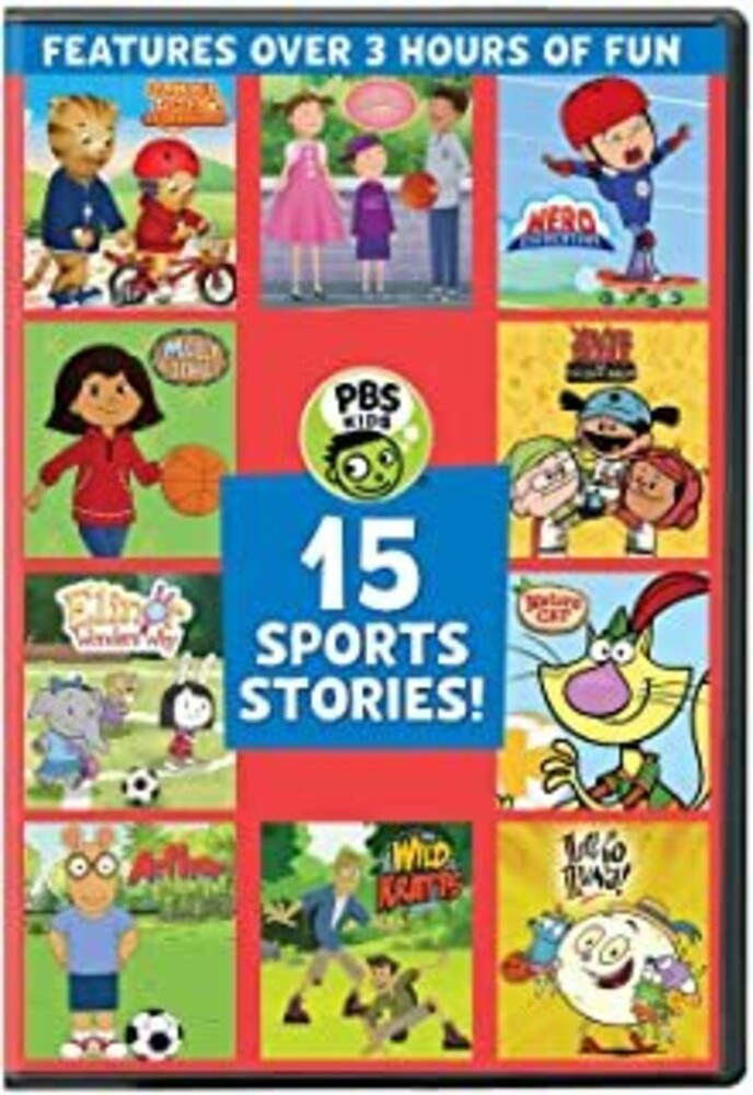 PBS Kids: 15 Sports Stories - PBS KIDS: 15 Sports Stories