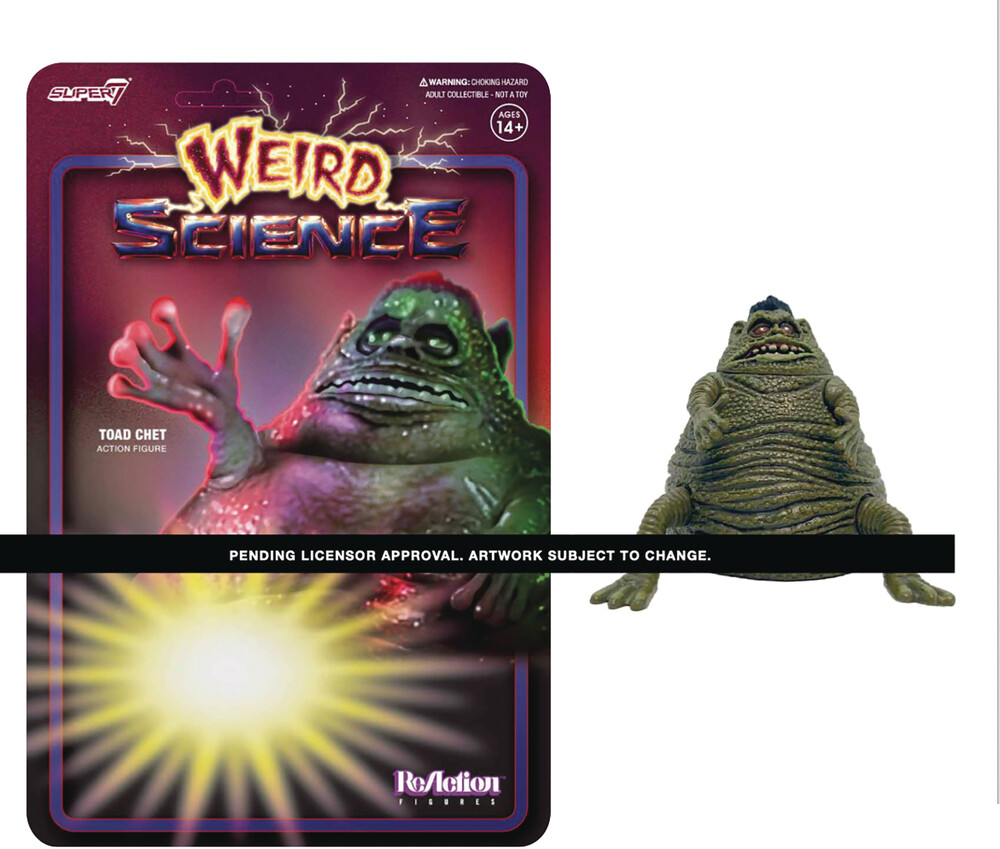 Weird Science Reaction Toad Chet (Movie Accurate) - Super7 - Weird Science ReAction - Toad Chet (Movie Accurate)