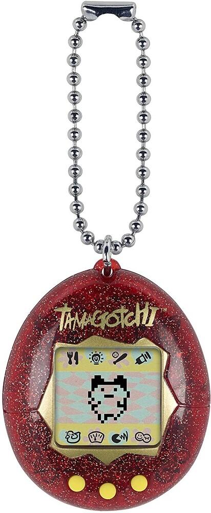 Tamagotchi - Bandai America - Original Tamagotchi, Red Glitter