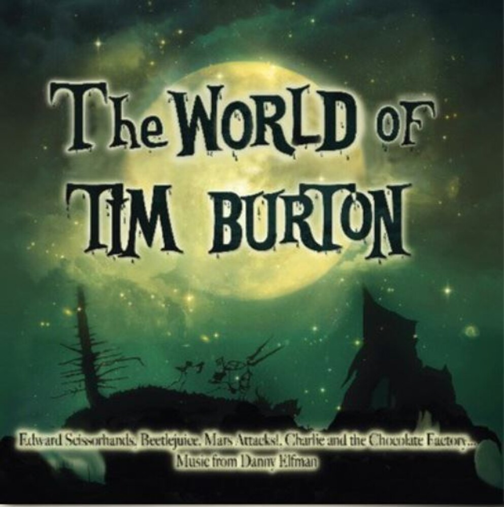 World Of Tim Burton / O.S.T. (Grn) - World Of Tim Burton / O.S.T. (Green Vinyl) (Grn)