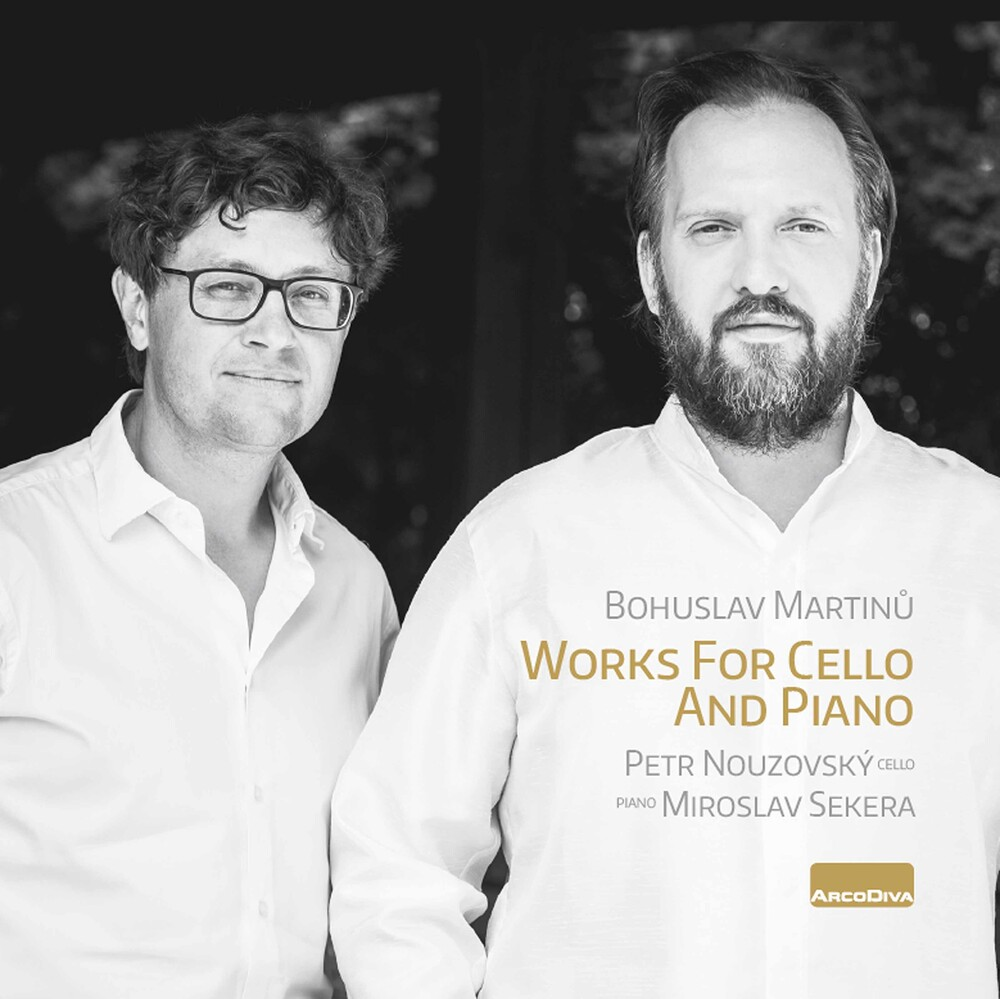 Petr Nouzovský - Works for Cello & Piano