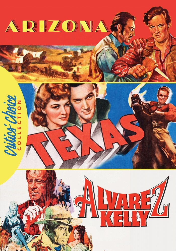 - William Holden Western Triple Feature Dvd