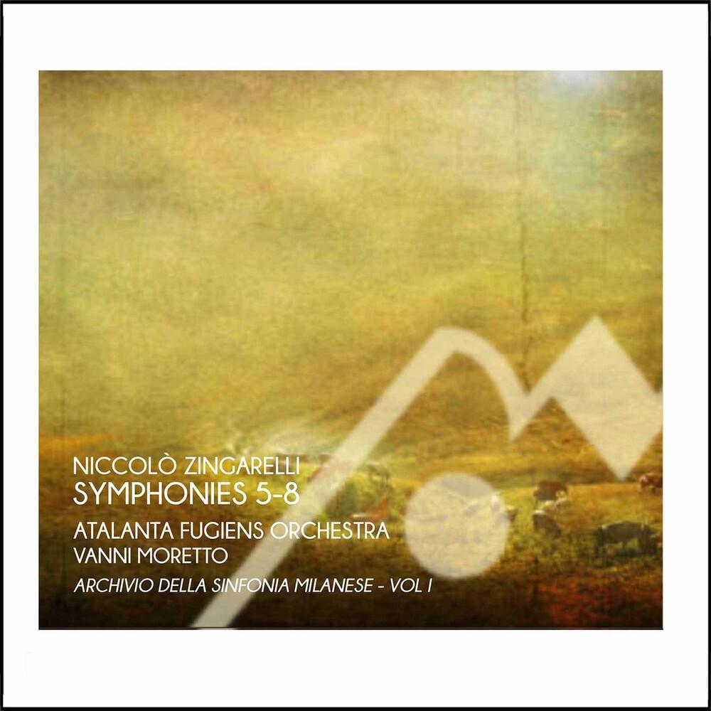 Zingarelli / Atalanta Fugiens Orch / Moretto - Simphonies 5-8