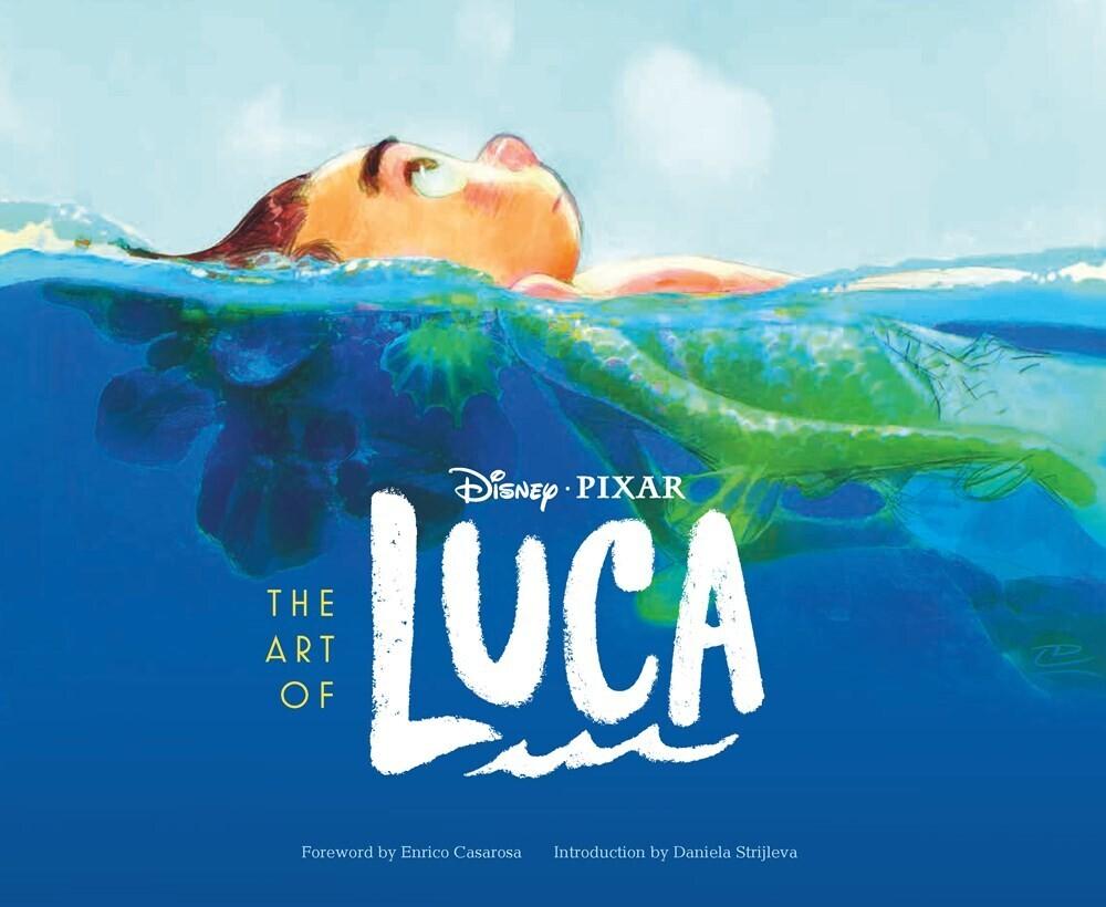 Disney Pixar - Art of Luca